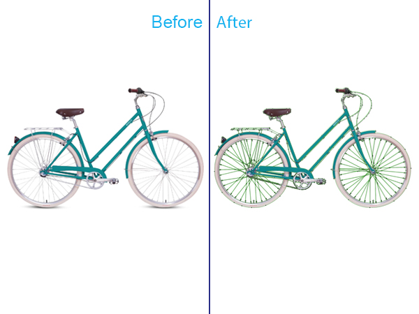 Outline Clipping Path Service
