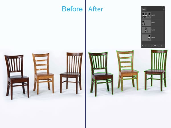 Multiple Clipping Path Service
